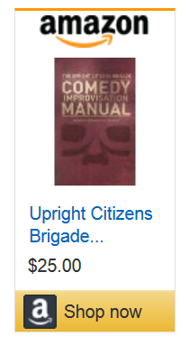 Shop for UCB Comedy Improvisation Manual at Amazon