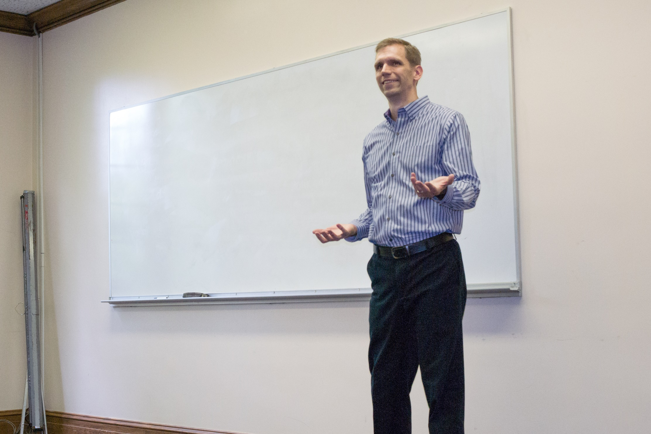 Derek presenting at a workshop