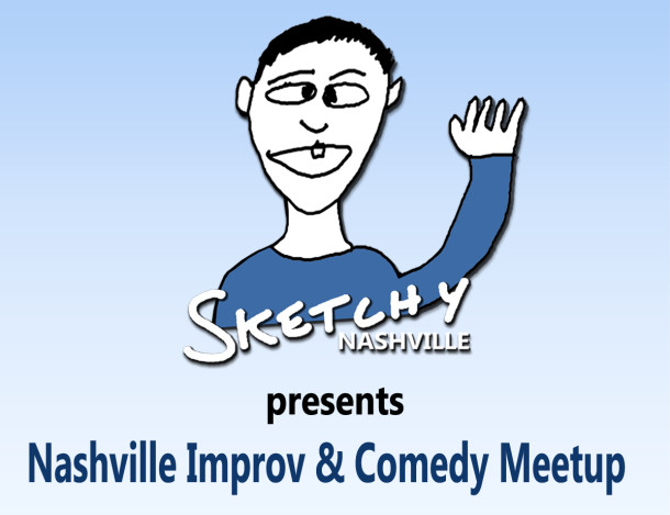 Nashville Improv & Comedy Meetup logo